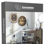 34组高品质室内家庭用品饰品3D模型合辑 EVERMOTION ARCHMODELS VOL.188