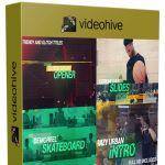 画面故障干扰体育运动竞技节目片头视频包装AE模板