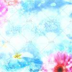 梦幻浪漫的鲜花背景视频素材