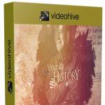 复古史诗水墨散开历史回忆照片展示片头视频包装AE模板