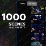 1000组创意视频设计元素特效包装AE模版与预设合集