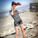 DAZ  最新Victoria 8  完整女性角色3D模型套件合集