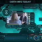 地球地图信息解析播放器风格包装动画AE模版