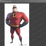 超人总动员超人先生Zbrush制作全流程视频教程