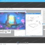 游戏原画场景设计基础知识与绘画技法视频教程