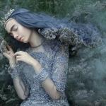 迷人童话魔法暗色凸显人像特效PS动作