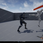 多人双人战斗生存游戏系统整体蓝图UE4游戏素材资源