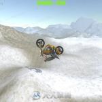 山地摩托车翻转骑行小游戏整体项目Unity游戏素材资源