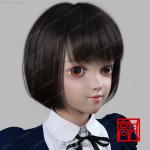 可爱大眼睛洋娃娃女孩多组服装造型3D模型
