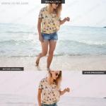 现代夏天明亮vsco风格人像摄影调色Lightroom模板