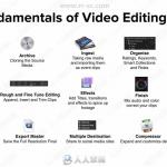 Final Cut Pro X 10.4.4非线剪辑基础核心技术训练视频教程