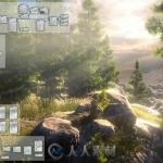 节点无限生成森林沙漠雪原游戏地图工具Unity游戏素材资源