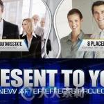 现代专业公司企业商务简介宣传片AE模板