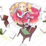 精品写实CG美女角色第二季原画插画合集