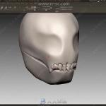 骷髅王概念艺术角色雕刻制作大师级视频教程