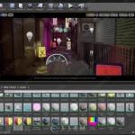 日本街道游戏环境实例制作视频教程