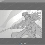 梁星超细致CG人物角色绘画过程2016年08月视频教程