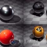 免费下载300款适用于Unity游戏引擎的测量材质集合