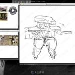 机甲军事机械人概念设计绘画实例训练视频教程