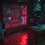 超逼真侦探办公室室街道内外场景UE4游戏素材资源