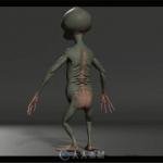 影片《疯狂的外星人》视觉特效解析视频 外星人与猴子互动片段的制作解析
