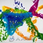 彩色水墨飞溅Logo演绎动画AE模板