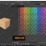 Blender中UV制作工作流程视频教程