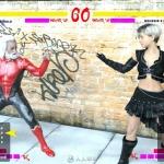 格斗游戏角色战斗姿势3D模型合集