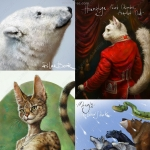 20组超级经典动物蓬松毛皮PS笔刷合集