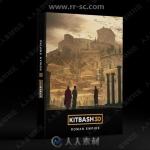 希腊罗马角斗场古迹斗兽场神殿建筑3D模型合集