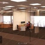 现代办公室室内设计3D模型合集