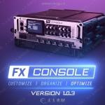 FX Console特效工作流程控制AE插件V1.0.4版