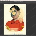 PS花卉肖像数字拼接技术训练视频教程