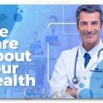 医疗医院医生药品相关宣传动画AE模板
