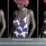 时尚泳装比基尼衣服服饰3D模型合集