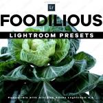 29组美食食物照片摄影后期调色艺术LR预设