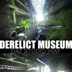 废弃博物馆场景3D模型