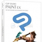 Clipstudio Paint漫画插画绘制软件V1.9.2版+材质包
