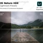 26组自然风景HDR后期调色艺术LR预设