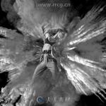 悬浮爆炸烟雾粉尘艺术特效PS动作