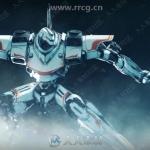 高达机器人角色动画Unreal游戏素材资源