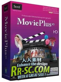 《数码视频制作》Serif Movieplus X5 7.0