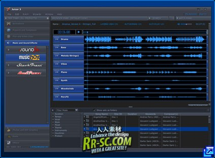 《Juicer3 DJ素材调用工具3.84版破解版》Juicer 3.84 Build b159