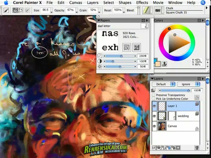 《Painter插画训练教程》Learning Corel Painter X with Jeremy Sutton by Corel