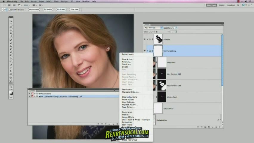 《Photoshop人像美容修饰训练教程》Kelby Training - Beauty Portrait Retouching for CS5