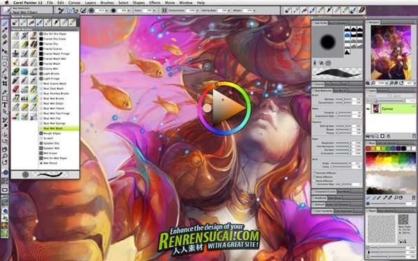 《Corel Painter高级训练视频教程》VTC Corel Painter 12 Advanced