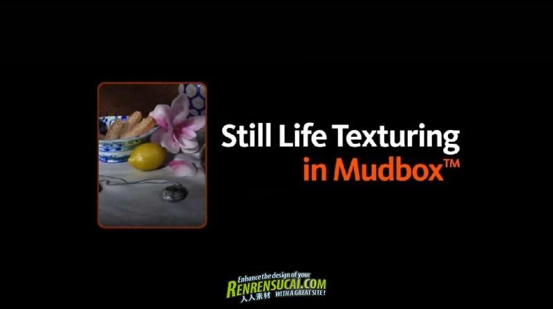 《Mudbox高级纹理贴图训练教程》Digital-Tutors Creative Development: Still Life Texturing in Mudbox with Sharlene Lin