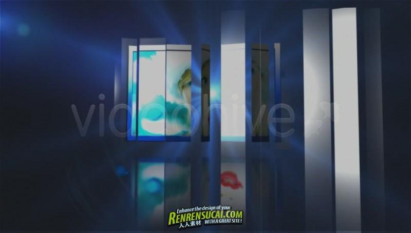《时尚折叠板式 AE包装模板》Videohive rollon 133639