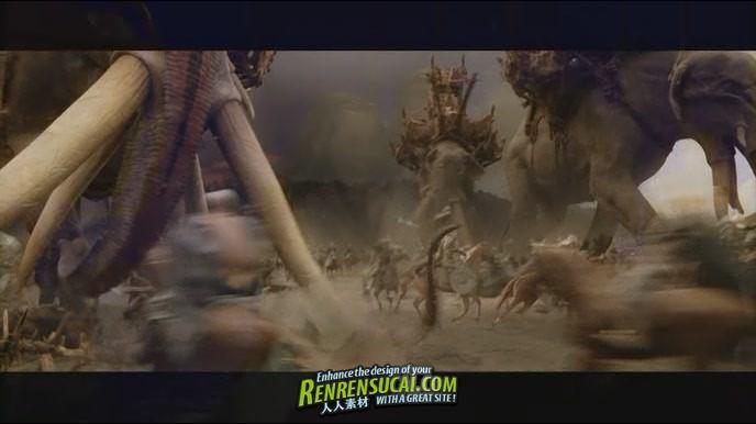 《指环王影视特效幕后及花絮制作解析教程》Lord of the Rings Additional Materials
