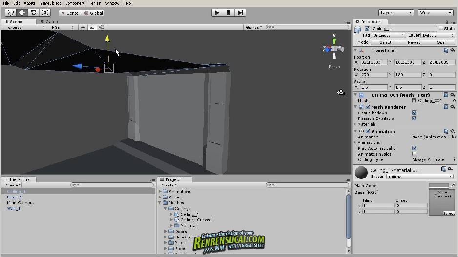 《Unity游戏引擎综合训练教程》Digital-Tutors Introduction to Unity